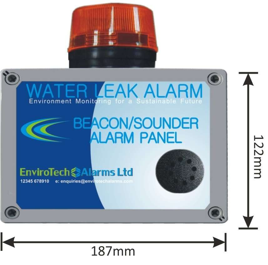 Beacon Sounder for Water Leak Detection