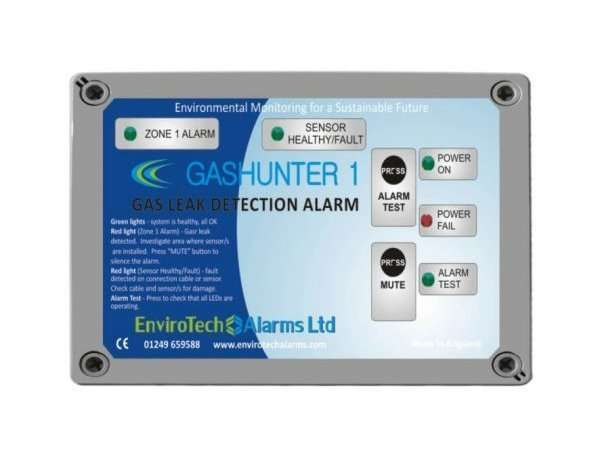 Single Zone Gas Leak Detection Alarm