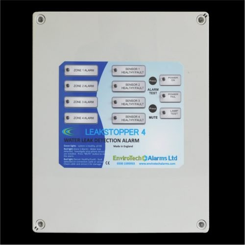 LeakStopper 4 for Multizone Water Leak Detection