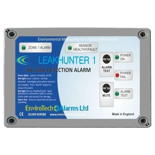 Oil Leak Detection alarm panel