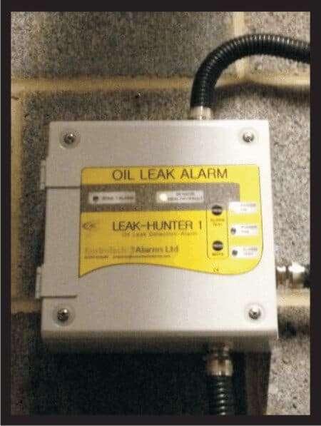 leakhunter 1 oil leak panel