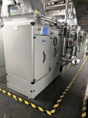 nhs plant room leak detection system in situ